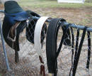 "VICTORY 4"" CUTBACK ENGLISH SADDLE"